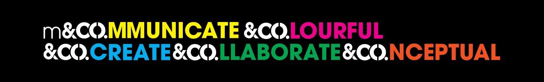 Communicate Colourful Create Collaborate Conceptual